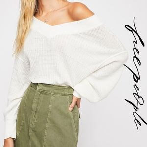 Free People South Side Thermal White We The Free